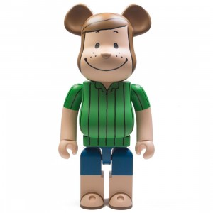 Medicom Peanuts Peppermint Patty 1000% Bearbrick Figure (green)