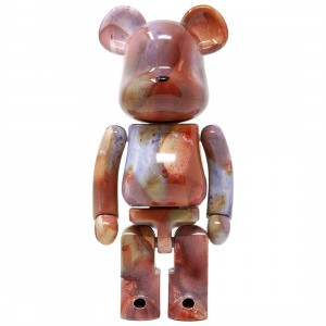 Medicom Super Alloyed Pushead 200% Bearbrick Figure (red)