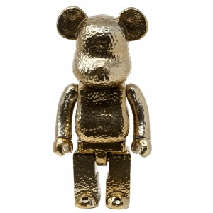 Medicom Royal Selangor Gold 400% Bearbrick Figure (gold)