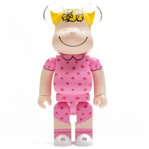 Medicom Peanuts Sally Brown 400% Bearbrick Figure (pink)