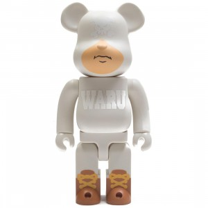 Medicom Santastic! Entertainment Tokyo Tribe Waru 400% White Bearbrick Figure (white)