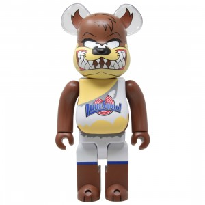 Medicom x Space Jam Tasmanian Devil 400% Bearbrick Figure (brown)