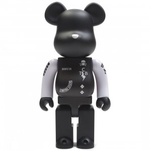 Medicom SSUR 400% Bearbrick Figure (black)