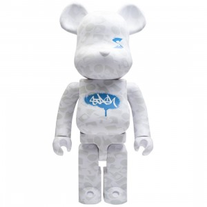 Medicom Stash 1000% Bearbrick Figure (white)