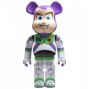 Medicom Toy Story Buzz Lightyear 1000% Bearbrick Figure (purple)