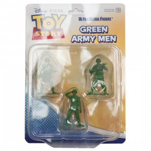Medicom UDF Pixar Toy Story Series 6 Green Army Men Ultra Detail Figure (green)