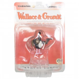 Medicom UDF Aardman Animations Series 1 Wallace And Gromit - Feathers McCraw (black)