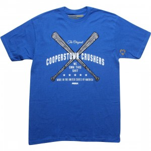 Musa Cooperstown Crushers Tee (royal)