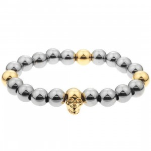 Mister Mr Annum Plus Bracelet (gold / chrome)