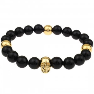 Mister Mr Annum Plus Bracelet (gold / onyx)