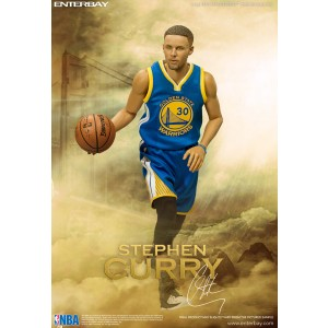 NBA x Enterbay Stephen Curry 1/6 Scale Figure (blue)