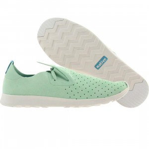 Native Men Apollo Moc (green / glass green / shell white)