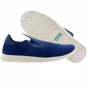 Native Men Apollo Moc (blue / victoria blue / shell white rubber)