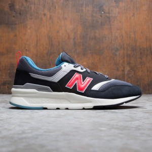 New Balance Men 997 CM997HAI (black / magnet / energy red)