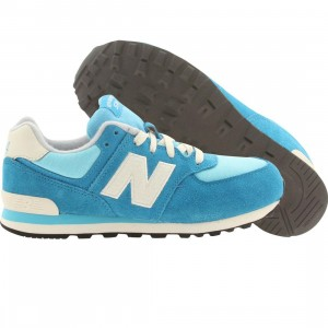 New Balance Big Kids KL574E5G (blue)
