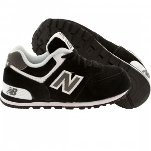 New Balance Toddlers KL574SKI (black)