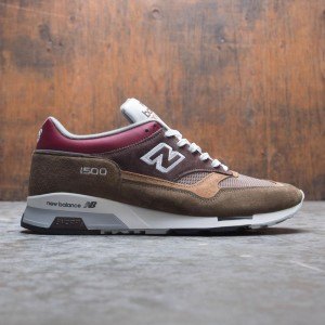 New Balance Men M1500 M1500GBG - Made In UK (brown / burgundy)