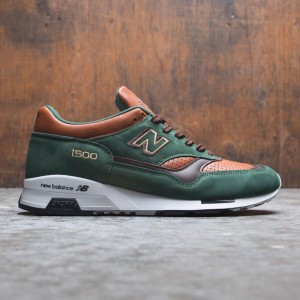 New Balance Men 1500 M1500GT - Made In UK (green / dark green / tan / brown)