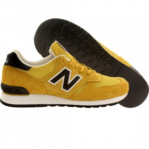 New Balance Men M670SMY - Made In England (yellow / black)