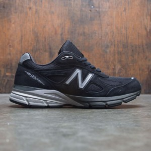 New Balance Men 990v4 M990BK4 - Made In USA (black / silver)