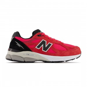New Balance Men 990 M990PL3 - Made In USA (red / black)