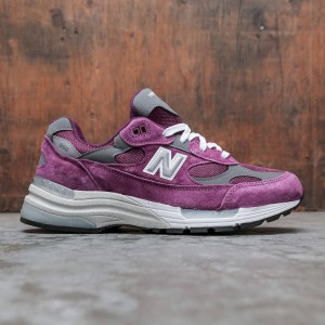 New Balance Men 992 M992BA - Made In USA (purple / grey)