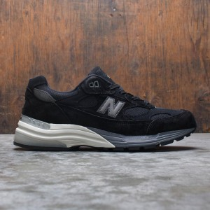 New Balance Men 992 M992BL - Made In USA (black)