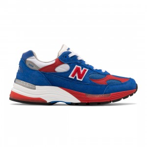 New Balance Men 992 M992CC - Made In USA (blue / red)