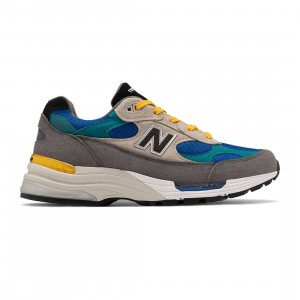 New Balance Men 992 M992RR - Made In USA (gray / green)