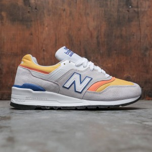 New Balance Men 997 M997PT - Made In USA (gray / orange)