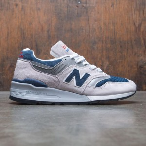 New Balance Men 997 M997WEB - Made In USA (gray / navy)