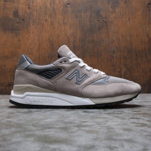 New Balance Men 998 M998BLA - Made In USA (gray / light grey)