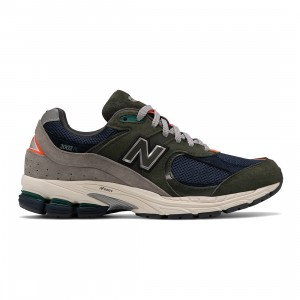 New Balance Men 2002R ML2002RF (green / defense green / natural indigo)