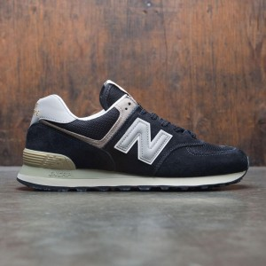 New Balance Men 574 ML574GYF (black / bone)