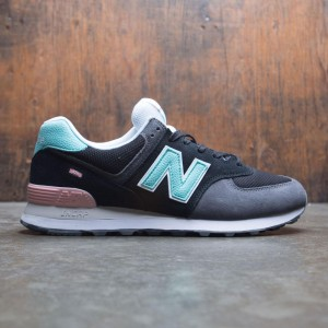 New Balance Men 574 Marbled Street ML574UJC (black / light tidepool)