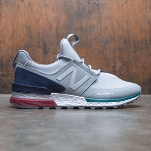 New Balance Men 574 Sport MS574DTC (gray / steel / pigment)