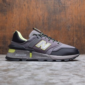 New Balance Men 997 Sport MS997SKC (gray / castlerock / black / lemon slush)