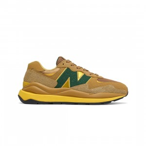 New Balance Women 57/40 W5740WT1 (brown / dry sage / bleached lime glo)