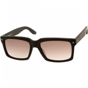 Nothing and Company Hellman Sunglasses (black / matte / brown)