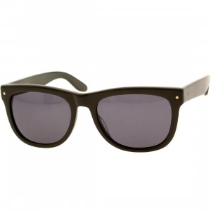 Nothing and Company Jotham Sunglasses (olive / smoke)