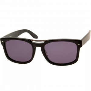 Nothing and Company Willmore Sunglasses (black / smoke)