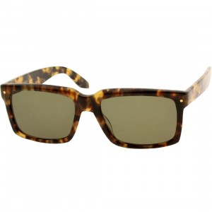 Nothing and Company Hellman Sunglasses (green / tortoise)