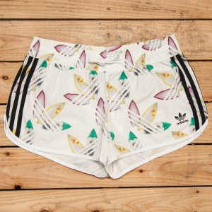 Adidas x Pharrell Williams Women Surf Running Shorts (white / multi)