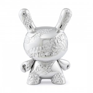 Kidrobot x Tristan Eaton New Money 5 Inch Metal Dunny Figure (silver)