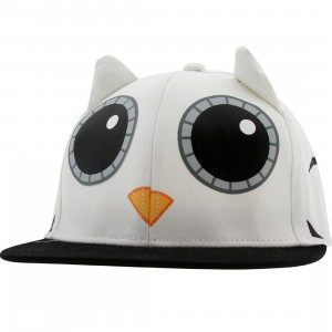 Neff Hootie Animal Cap (white)