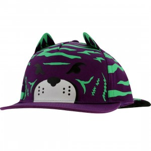 Neff Jungle Cat Animal Cap (purple)