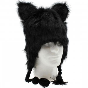 Neff Little Fur Beanie (black)