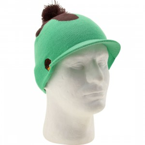 Neff Ice Cream Visor Beanie (mint / chocolate)