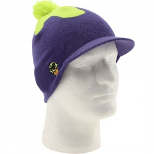 Neff Ice Cream Visor Beanie (purple / tennis)