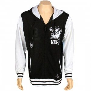 Neff x Snoop Dogg Vizzle Zip Hoody (black / white)